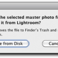 Deleting images might seem like a straightforward thing to do. If you're sitting in a Folder in Lightroom then hitting the Delete key should do just that, shouldn't it? Well...