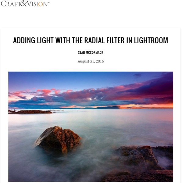Craft and vision add light radial fliter lightroom