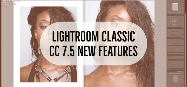 Lightroom Classic CC 7.5 just dropped. Here's the new features. Book: Finally you can change layouts, you're not just stuck to the templates that ship with Lightroom. The newer Blurb...